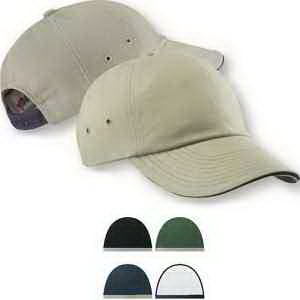 Low Profile Ultra Heavyweight Brushed Twill Sandwich Cap