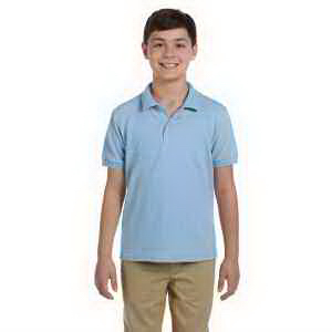 Youth 6.5 oz DryBlend (TM) Pique Sport Shirt