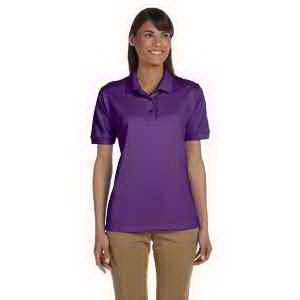 Ladies' 6.5 oz Ultra Cotton (R) Ringspun Pique Polo