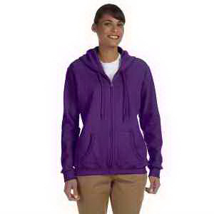 Ladies' 8 oz Heavy Blend (TM) 50/50 full zip hood