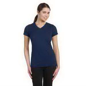 Alo Ladies' Performance Triblend Short-Sleeve V-Neck T-Shirt