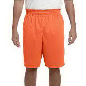 Augusta Sportswear 100% Polyester Tricot Mesh Shorts