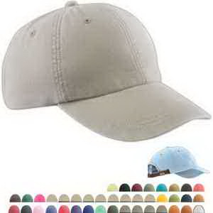 Six Panel Low Profile Washed Pigment Dyed Cap