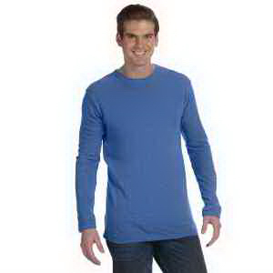 Alternative Men's Long-Sleeve Eco-Jersey Crew