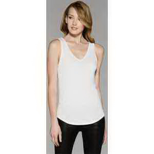 Bella + Canvas Ladies' Flowy V-Neck Tank