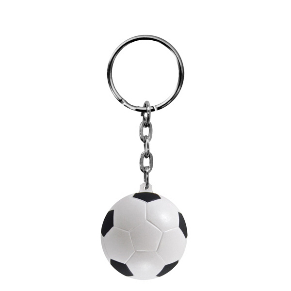 Foam Key Chain-Soccer Ball