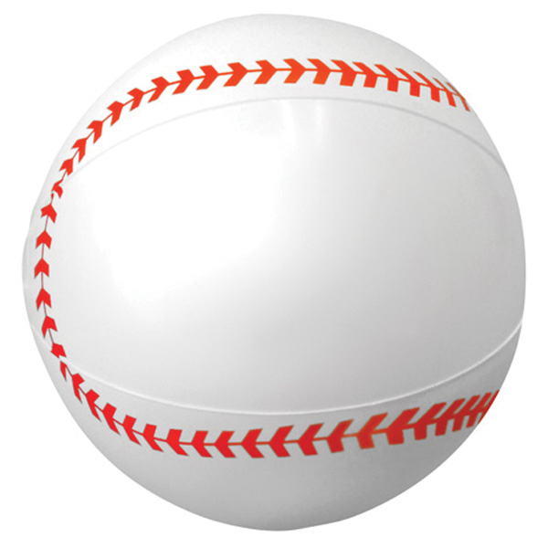 "16"" Sport Beach Ball-Baseball"