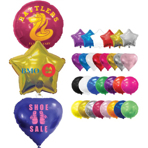 "18"" Shaped Foil Balloon-Star"