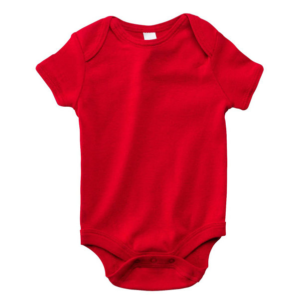 Bella + Canvas Infant Short-Sleeve Baby Rib One-Piece