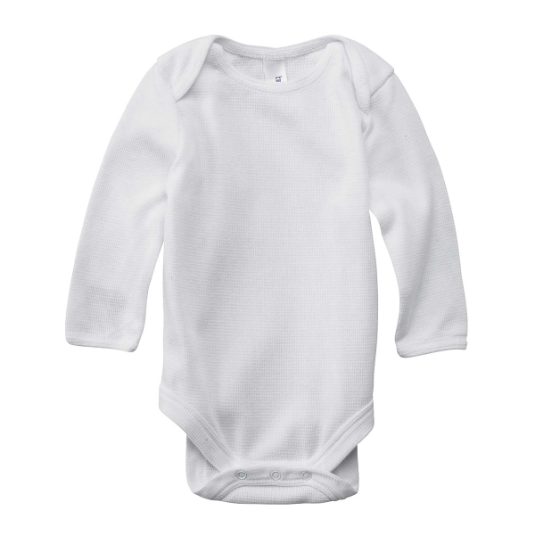 Bella + Canvas Infant Long Sleeve Thermal One-Piece