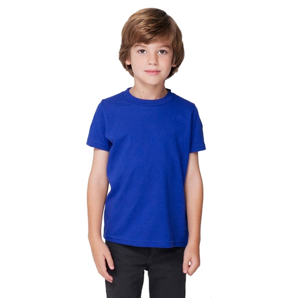 Toddler Poly-Cotton Short Sleeve Crewneck