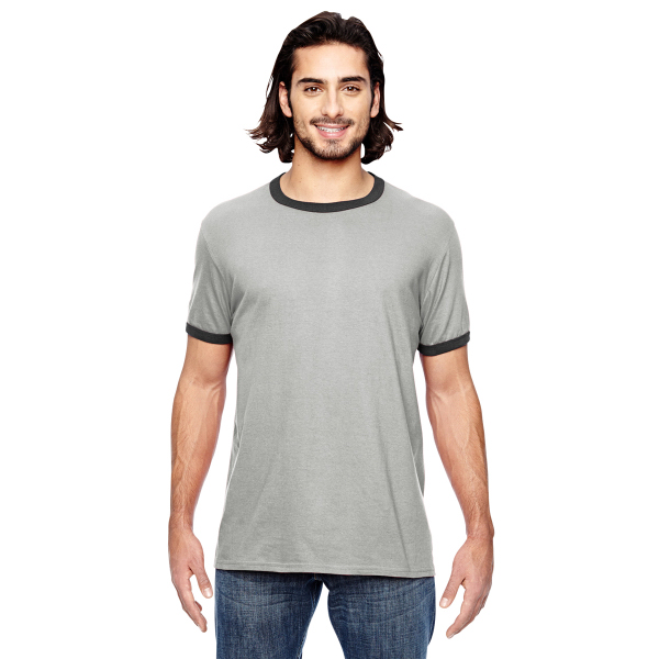 Anvil Adult Lightweight Ringer T-Shirt