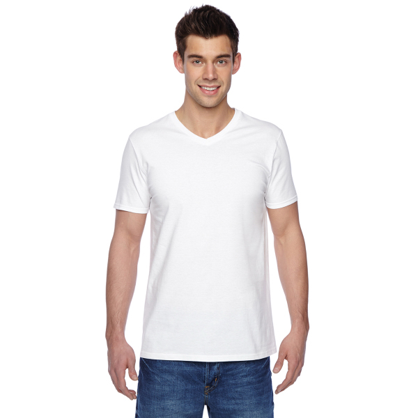 Fruit of the Loom Cotton Jersey V-Neck T-Shirt