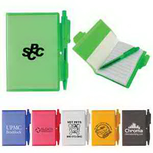 Mini Flexi Notebook with Pen
