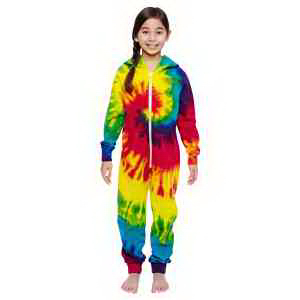 Tie-Dye Youth All-In-One Loungewear