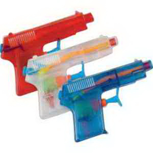 "Mini 4"" Pistol Type Water Gun-Imprinted"