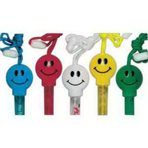 Smile Bubble Tube Necklaces-Imprinted