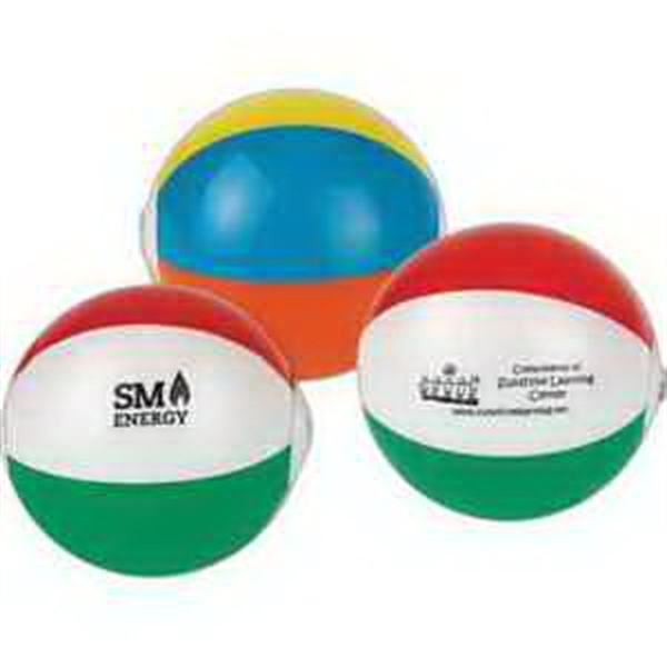 "7"" Mini Multi-Colored Beach Balls-Imprinted"
