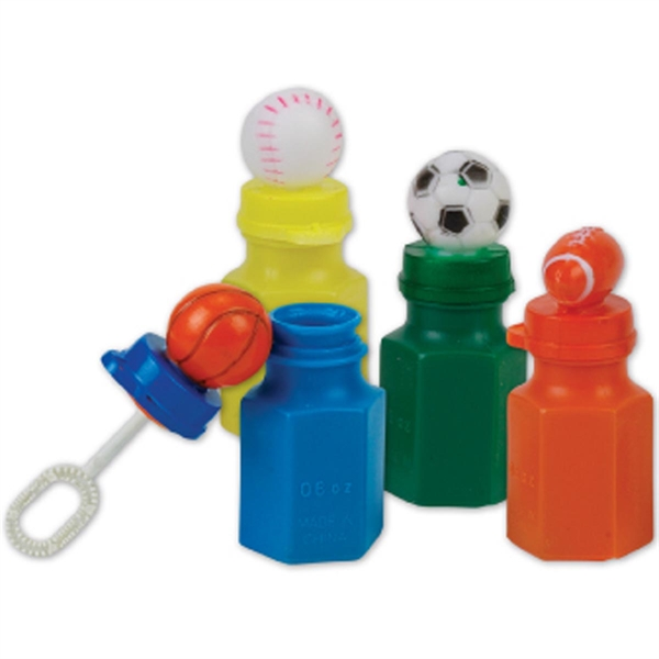 Mini Sports Bubbles-Imprinted