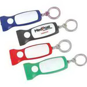 "Mini ""Torch"" Light-Up Key Chain-Imprinted"