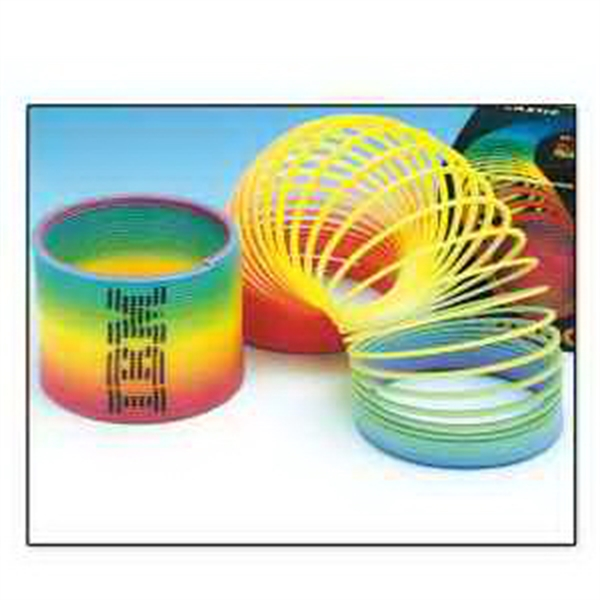 Large Round Rainbow Coils-Imprinted