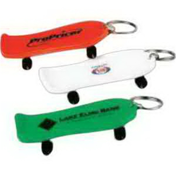 Solid Skateboard Key Chain-Imprinted