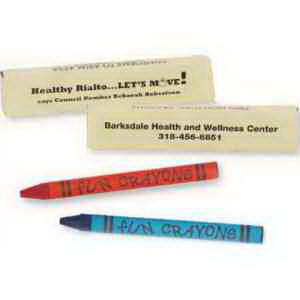 Two Pack Of Premium Crayons-Imprinted