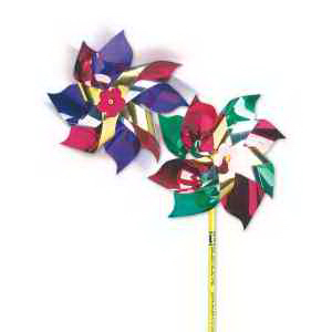 "4"" Metallic Pinwheels-Imprinted"