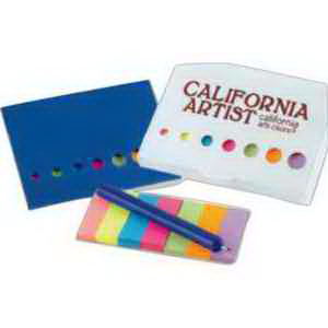 Sticky Flags and Pen Sets-Imprinted