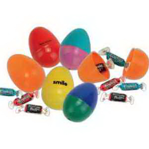 Economy Candy Filled Easter Eggs-Imprinted
