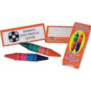Two-Pointed Crayons-Imprinted