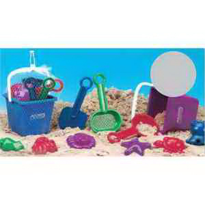 Deluxe 10 Piece Sand Set-Imprinted