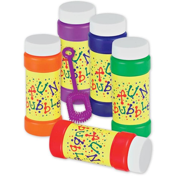 """Two Ounce """"Fun"""" Bubbles-Imprinted"""