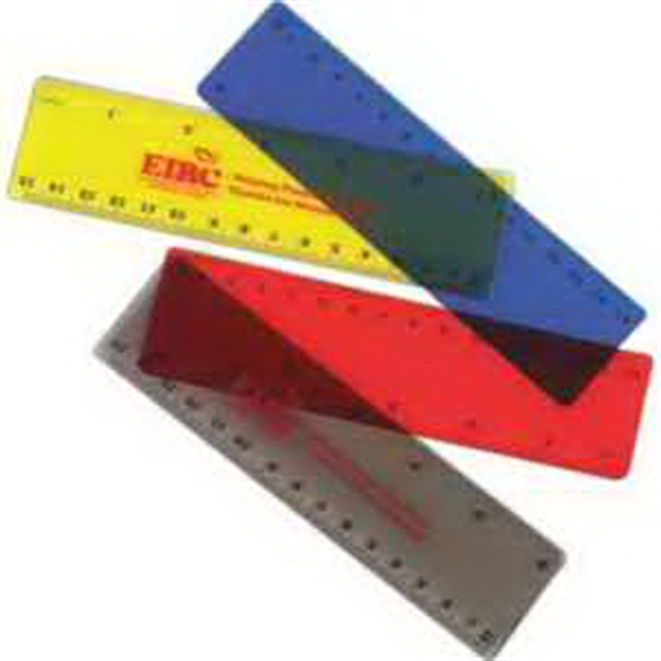 "6"" Translucent Ruler-Imprinted"
