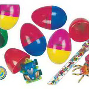 Toy Filled Easter Eggs-Imprinted