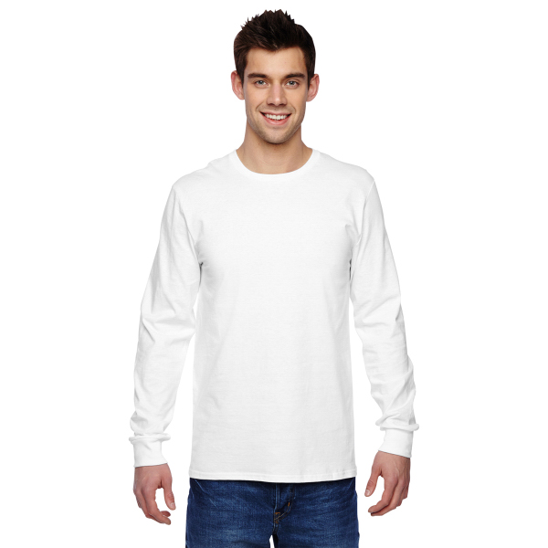 Fruit of the Loom 4.7 oz. 100% Sofspun(R) Cotton Long-Sleeve