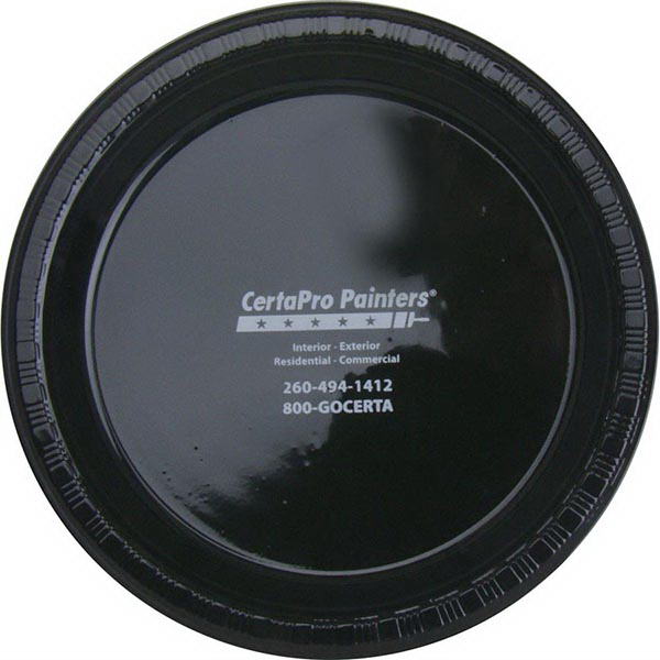 """7"""" Round, Solid Color Plastic Plate"""