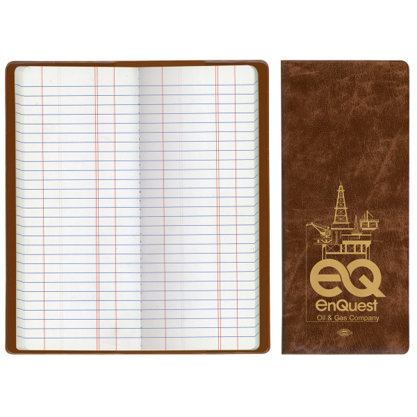 Oil & Pipe Long Tally Book - Executive Vinyl