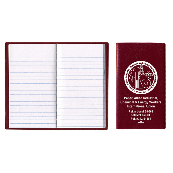 Castillion Vinyl Cover Tally Book