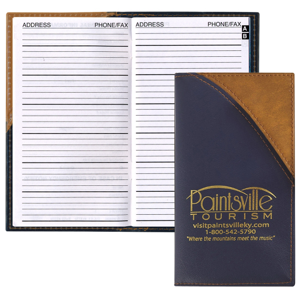 Barcelona Two-Tone Vinyl Soft Cover Planner