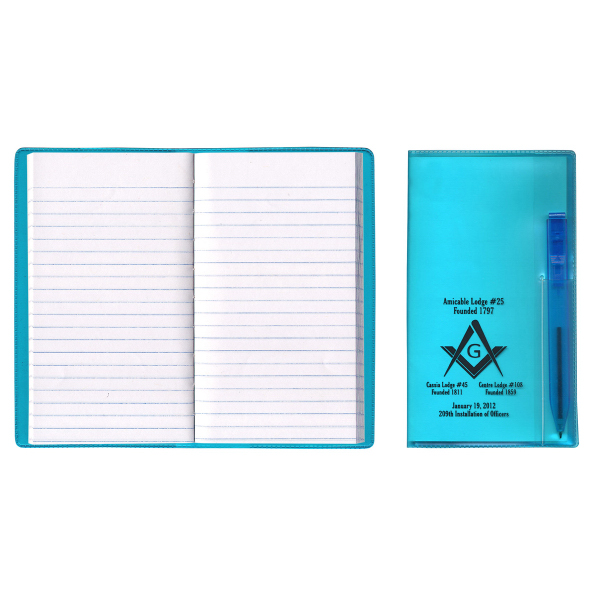 Translucent Vinyl Cover with Flat Matching Pen