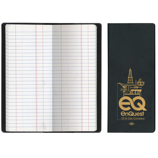 Oil & Pipe Long Tally Book-Standard Vinyl