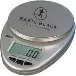 Weigh n(TM) - Digital Kitchen Scale - Silver