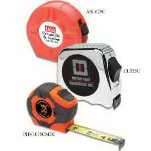 "Lufkin 3/4"" x 16 ft Power Tape, Hi-Viz(R) orange case"