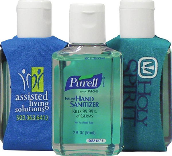 2-oz. Purell with Aloe Sanitizer in a Clip