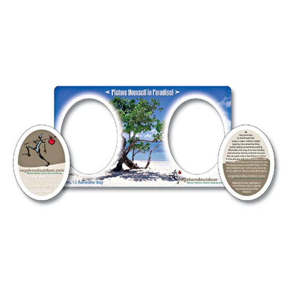 Magnet - Picture Frame Double Punch (7x4) - 30 Mil.