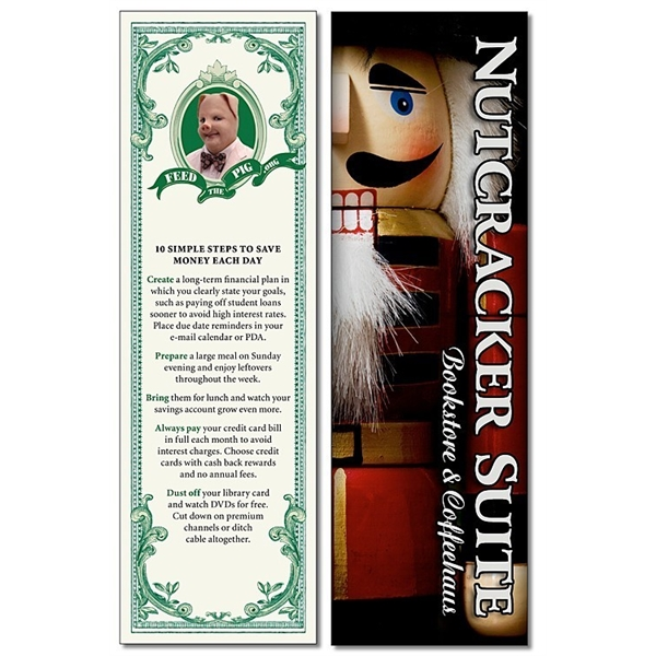 Plastic Bookmark - 2.25x7.25 Laminated - 14 pt.