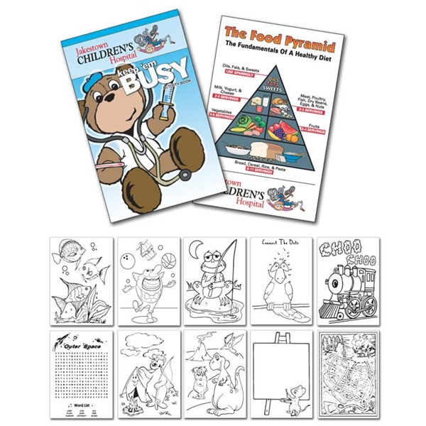 Activity Coloring Book - 5.5x8.5 - (12-Page Doctor)