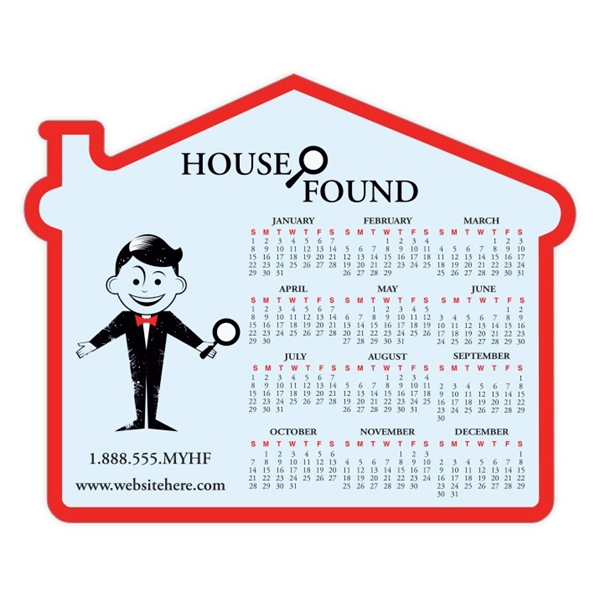 Real Estate Magnet - House Shape (4.75x3.875) - Outdoor Safe