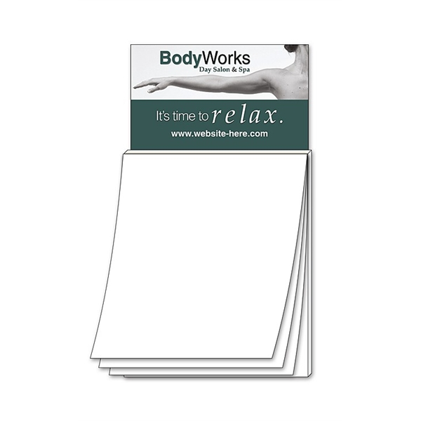 Magna-Pad Business Card Magnet - BLANK Sheet (50 Sheet)